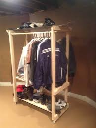 How to Make a Clothing Rack