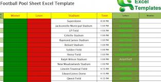 sample spreadsheet excel football pool sheet excel template football pool template