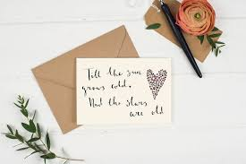 Quote Cards Inspiration Love Quote Cards By Wildflower Illustration Co Notonthehighstreet