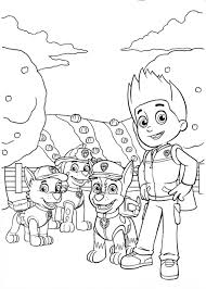 Free Coloring Pages Of Paw Patrol Paw Patrol Coloring Sheets