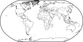 Coloring World Map Coloring Page For Preschoolers Flags Of The