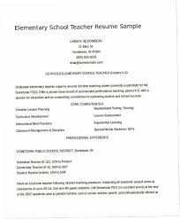 Resume Templates For Teachers Adorable Resume Template For Teachers ENC48 Literarywondrous Teacher Resume