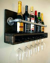 glass wooden wine rack plans free amazing