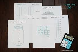 Free Printable Debt Free Charts Debt Free Charts
