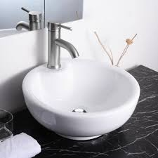 aquaterior bathroom porcelain ceramic vessel sink vanity basin