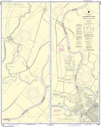 Noaa Nautical Chart 18664 Sacramento River Sacramento To Fourmile Bend