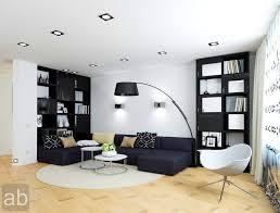 room black brown colors modern interior