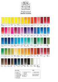 Watercolor Chart Winsor Newton Winsor Newton Professional Water Colour Whole Pans Over 25 Off