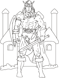 Small Picture vikings norseman with a sword coloring pages Download Free