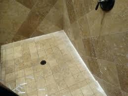 travertine shower cleaning shower tile custom shower