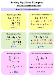 solving linear equations worksheets pdf solving equations ks3