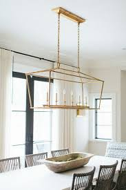 linear dining room lighting. Kate Marker Interiors | Darlana Linear Pendant By E.F. Chapman Available At Circalighting.com Dining Room Lighting
