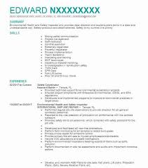 1620 Occupational Health And Safety Resume Examples Engineering