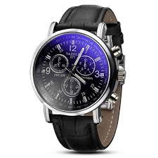 feitong® fashion mens blue ray glass quartz watches amazon co uk feitong® fashion mens blue ray glass quartz watches amazon co uk watches