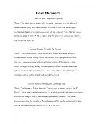 Comparative Essay Thesis 021 Format Of Research Paper Example Essay Thesis Statement