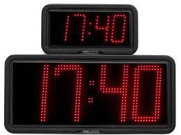 examples large digital led time clocks