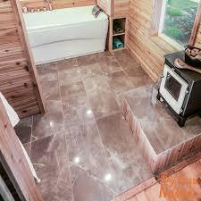 12x24 porcelain tile. Marmi Tech Moon Gray 12x24 Polished Porcelain Tile E