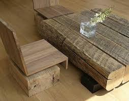 Andr Joyau's Salvaged Wood Furniture Celebrates Reclaimed Materials. Design