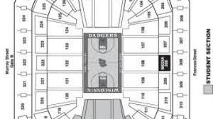 Kohl Center Basketball Seating Chart Madison Com