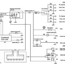 the following circuit and schematic diagram shows typical ignition typical electrical circuit diagram of two wheeler figure 6 two wheeler electric circuit diagram