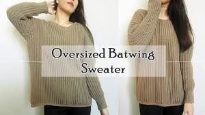 Crochet Oversized Cardigan Pattern