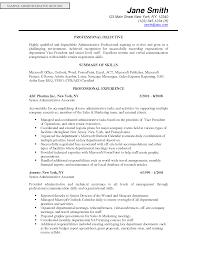 Management Resume Objective Resume Online Builder