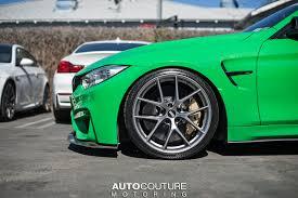 BMW 5 Series bmw 5 series bbs : Signal Green BMW M4 With BBS Wheels