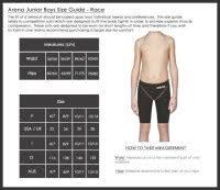 Nike Size Chart Womens Swimwear Team Uniforms Size