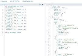 Vega Vertical Bar Chart Inline Data Vs Elasticsearch Index