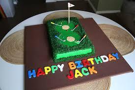 Miniature Golf Cake Heather Drive