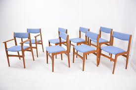 teak dining chairs 2 carvers and 6 side chairs for 8 950