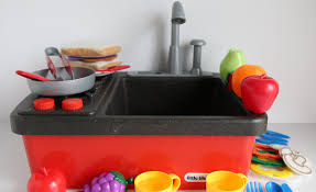 Kids Kitchen Set  DIY Sink And Electric Range  Home Made By CarmonaKids Kitchen Sink