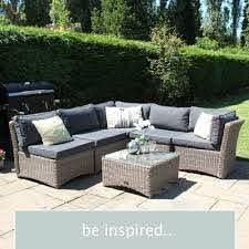 rattan outdoor furniture for gardens