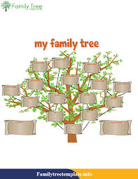 Making A Family Tree For Free Family Tree Template