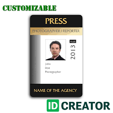 For Resume Card Id Free Template 49 Interview Journalist
