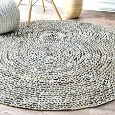 round jute rug pottery barn rug size 6 rugby parade belfast 6