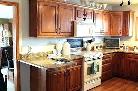 old oak kitchen cabinets refinishing how to redo on a budget update cabinet before and after