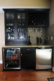 Modern Basement Wet Bar Pretty Bars Image Gallery In Contemporary On Innovation Design