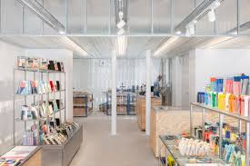 Shelf Designs For Shops Stationery Brand Showroom Papier Tigre Ixtenso Magazine