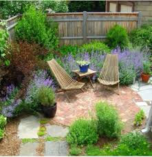 Patio Designs For Small Yards Idea For Paved Area Corner Patio Design Small Courtyard