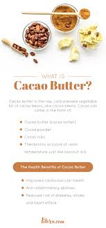 Avocado, cocoa powder, sweetener, vanilla extract. Cacao Butter Benefits A Healthy Fat For Keto And Beyond Fitoru