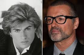 george michael then now. Exellent Michael Founditemclothingcom George Michael Throughout Then Now O