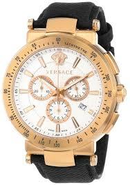 watches men gold versace men s vfg070013 mystique rose gold ion gold watches men versace