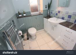 Countrystyle Bathroom Wood Paneling Stock Photo 9857518 - Shutterstock