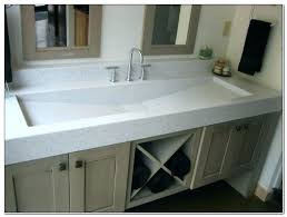trough sink bathroom double trough sink large size of bathroom sink bathroom vanity double faucet trough trough sink