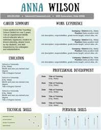 Calm and Collected Resume Template. Make your resume pop with this  beautiful template. The