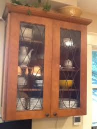 Glass Front Kitchen Cabinets Interior Glass Kitchen Cabinet Doors Intended For Best Kitchen