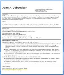 Mechanical Engineer Resume Template Extraordinary Mechanical Engineering Resume Templates Luxury Sample Format Scout