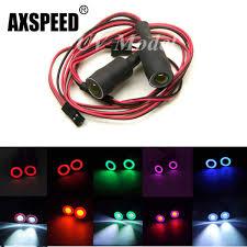 Radio Controlled Led Lights Upgrade 8x Led Lights Rc Model Car White Headlamps