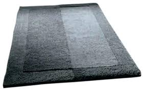 plush bathroom rugs cotton bathroom mat winsome design reversible cotton bath rugs slate gray thick plush